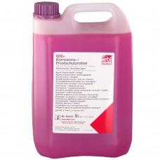Koelvloeistof rood G12+ 5L geconcentreerd, Febi Bilstein