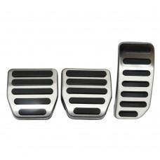 R-design pedaalset, Origineel, Volvo S60, V60, XC60, ond.nr. 31470775, 31290382, 31255496