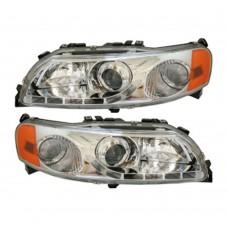 Koplampset, LED dagrijverlichting, dimlicht projector, Volvo S60, V70, XC70
