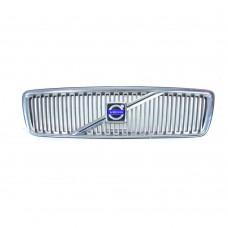 Grille, chrome, Volvo V70, bj 2000-2004, ond.nr. 8659875