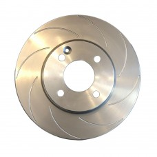 Performance remschijf voor, gegroefd, 11 inch, Mini R55, R56, R57, R58, R59, One, Cooper, Cooper SD,  ond.nr. 34116858651, 34116774985