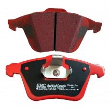 Remblokken voor, Performance, EBC Redstuff, Volvo C30, C70-II, S40-II, V40-II, V50, ond nr. 30742029