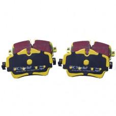 Remblokkenset, Voorzijde, EBC YellowStuff, Mini F54, F55, F56, F57, F60, bj 2014-heden, ond.nr. 34106874034
