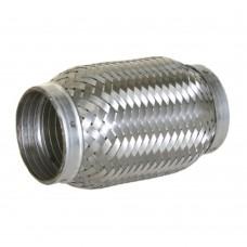 """Flexibel uitlaatdeel, interlock, lasstuk, 3"""" diameter, 250mm lang"""