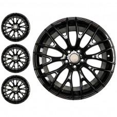 Velgenset 18 Inch Styling, Glansend zwart, Mini F54, Mini F55, Mini F56, Mini F57