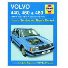 Haynes werkplaatshandboek, Volvo 440, 460, 480 benzine, bouwjaar 1987-1997
