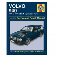 Haynes werkplaatshandboek, Volvo 940 benzine, bouwjaar 1990-1996