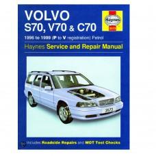 Haynes werkplaatshandboek, Volvo C70, S70, V70-I, bouwjaar 1996-1999