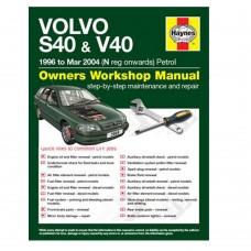 Haynes werkplaatshandboek, Volvo S40, V40, bouwjaar 1996-2004
